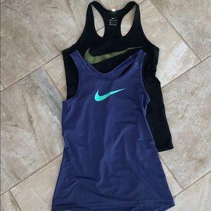 Nike Dri-Fit Sports Tanks Bundle of Two